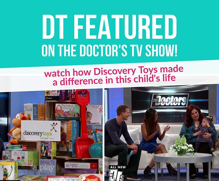 Discovery-Toys-Featured-On-The-Doctors-TV-Show--Making-a-difference-in-lives-of-children, The Doctor's TV Show, Discovery Toys