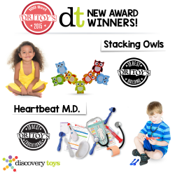 DT Exclusive's Heartbeat M.D. & Stacking Owls Listed in Dr. Toy's 100 Best Toys 2015!