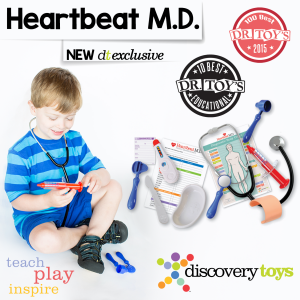 Heartbeat M.D. Discovery Toys, Dr. Toys Award Winner