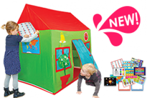 Discovery-Toys-School-House-Play-Tent