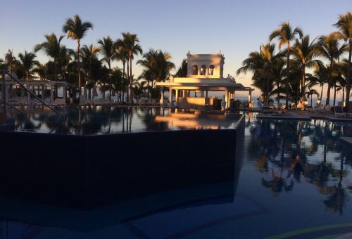 Sunrise Pool view…amazing!