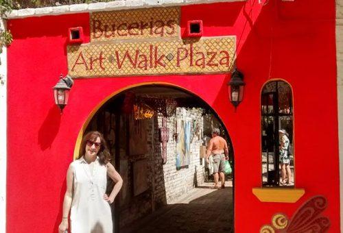 Trip Achiever Gail Flannigan Walkin' The Town