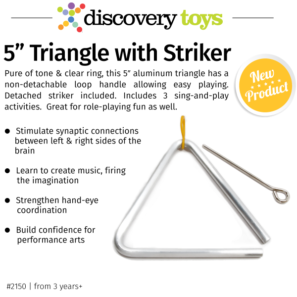 5-inch-Triangle-with-Striker_Discovery-Toys-New-2017-2018-Products