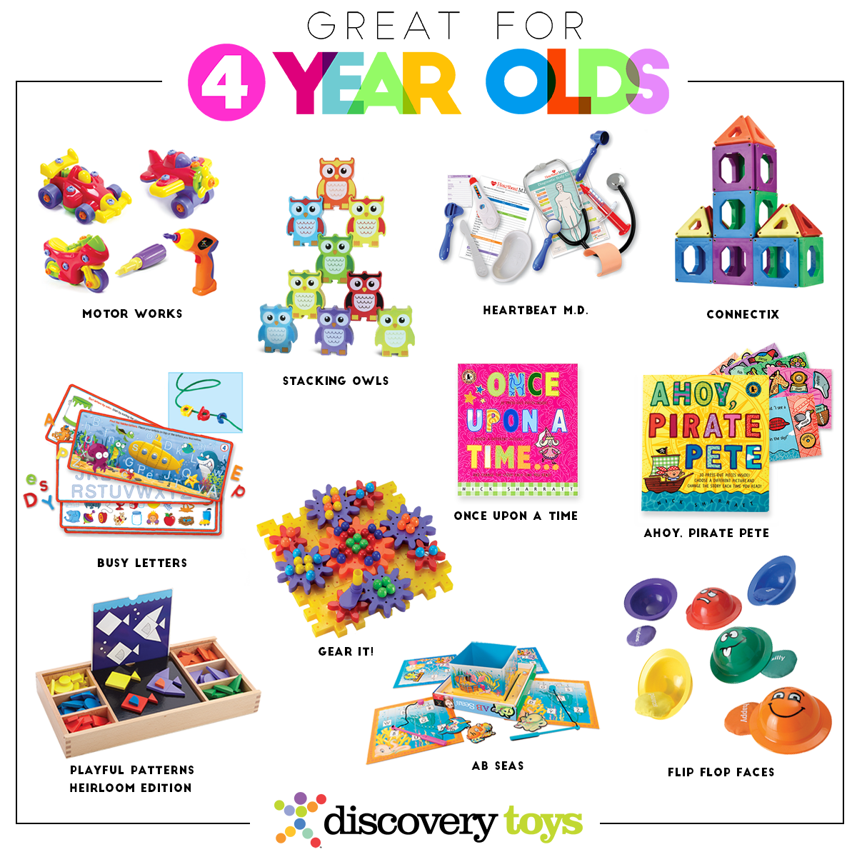 Toys For 45 Year Olds : Discovery toys top products by age