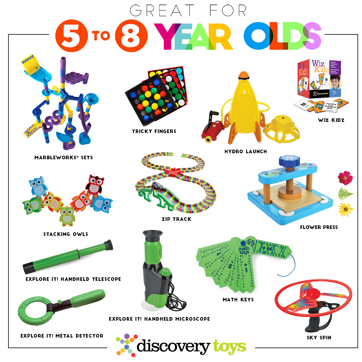 Educational Toys 8 Year Olds : Discovery toys top products by age