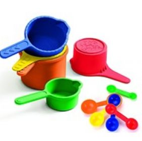 Discovery Toys Measure Up! Pots & Spoons
