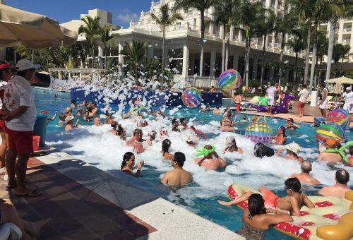 Foam Party…WHAT FUN?!