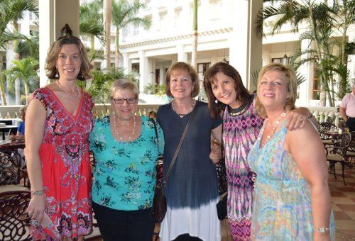 Trip Achievers Denise, Pat, Ruth, Cindy & Lisa