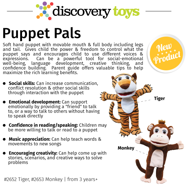 Puppet-Pals_Discovery-Toys-New-2017-2018-Products
